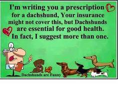 My prescription...
