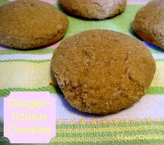 Gluten-Free Gingerlicious Cookies - Flippin' Delicious