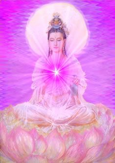 Click To Discover The Meaning Of Your Life-Number, Kwan Yin Cosmic Art, Joker Art, Ascended Masters, Sacred Symbols, Goddess Art, Buddha Art, Angel Cards, Guanyin, Gods And Goddesses