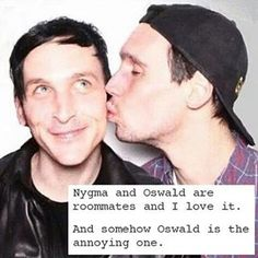 OSWALD IS NOT ANNOYING HE IS PERFECT I WILL FIGHT YOU