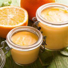Crème sucrée à l'orange de ma grand-mère