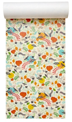 Image of Wallpaper Forest Spice Empire Wallpaper, Of Wallpaper, Pattern Wallpaper, Wallpaper Ideas, Amazing Wallpaper, Textiles, Textile Patterns, Print Patterns, Home Goods Decor