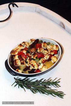 Rezept: Ofengemüse | Projekt: Gesund leben | Blog über Ernährung, Bewegung und Entspannung