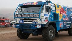 Kamaz Trucks on Paris Dakar Rally