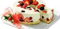 Receita Mousse Light de Cream Cheese com Frutas Vermelhas