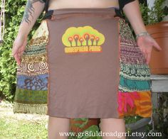 Widespread Panic Fall Tour 2005 Patchwork Skirt by gr8fuldreadgrrl