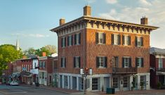 The Georges | A boutique inn located in Lexington, Virginia Lexington Virginia, Virginia Hotels, Restaurant Specials, Seaside Towns, Old Building, Historical Architecture, Grand Hotel, Best Cities, Hotel Reviews