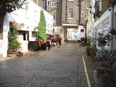 Hyde Park London stables... where the country meets the city. I want to see this place!
