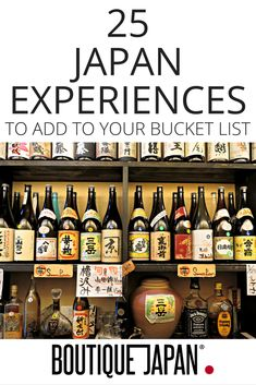 Ideas and inspiration for your trip to Japan. 25 remarkable places and experiences in Japan, from sushi to sumo, hot springs to hiking, and much more! Go To Japan, Visit Japan, Japan Trip, Tokyo Trip, Okinawa Japan, Japan Travel Guide, Asia Travel, Laos, Romantic Camping