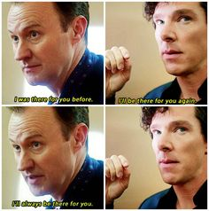 I been having a lot of brothers feels because of this special #Sherlock #Mycrof #Special