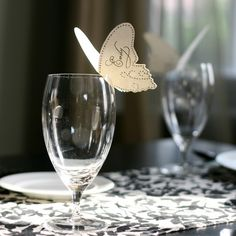 image_304_1.jpg 430×430 pixels   Butterfly place card on glass