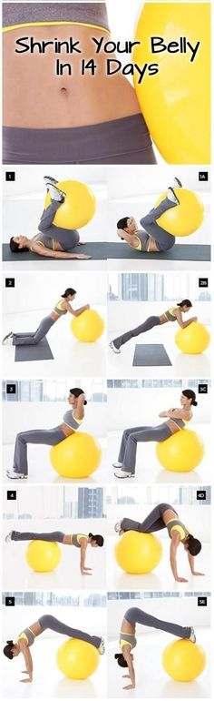 Tummy workouts