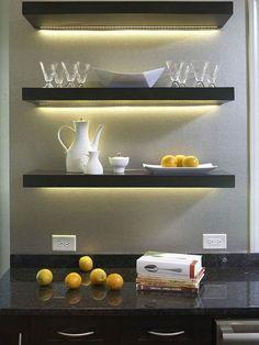 elegant grey ikea LED lighting