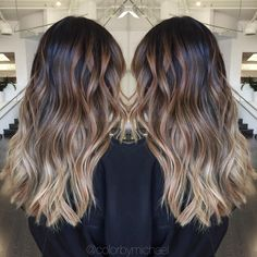 """Michael Klomsue on Instagram: """"Balayage ombre on level 1 asian hair..."""""""