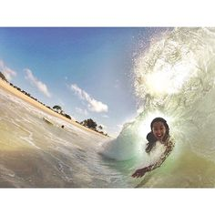 This was my morning wake up call yesterday that started off a day of crazy activities! Taken with my GoPro. - Kelia Moniz