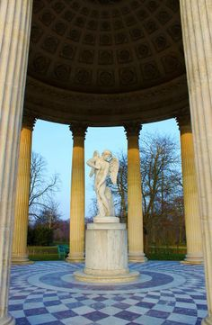 Cupid Temple in Palace of Versailles, France