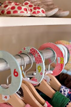 Easy Tutorial - Ashley's crafty closet dividers. - Mod Podge Rocks