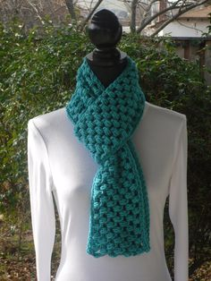 A personal favorite from my Etsy shop https://www.etsy.com/listing/91359997/puff-infinity-eternity-cowl-neck-warmer