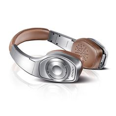 Denon Headphones Brown Globe Cruiser Wireless Noise-cancelling Headphones From GiftVault.com