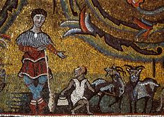 The Goatherd, Apse Mosaic, San Clemente, Rome