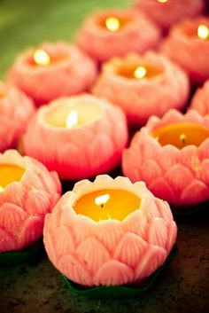 Pink candles ♥