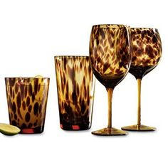 Tortoise Glassware...