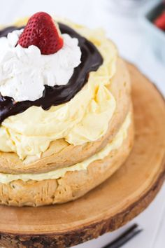 Cream Puff Layer Cake