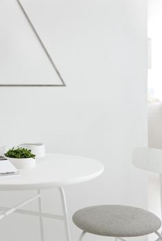 MENU, MatchaBar Copenhagen Project, Afteroom Dining Chair, Afteroom Cafe Table, Still