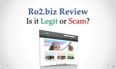 ro2-biz-review-legit-or-scam by Sandeep Iyengar via Slideshare