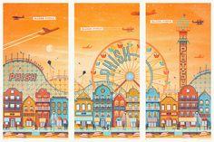 poster triptych - Cerca con Google