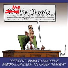 """""""Me The People"""" - Obama."""