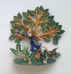 ☥ Figurative Ceramic Sculpture ☥  Helen Kemp