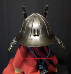 Samurai Helmet, Japanese Sword, Asian Art, Swords, Armour, Fashion, Moda, Body Armor, Fashion Styles