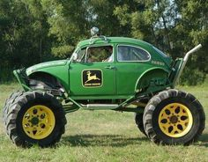 John Deere VW wudnt this be fun to bomb around in!! :)