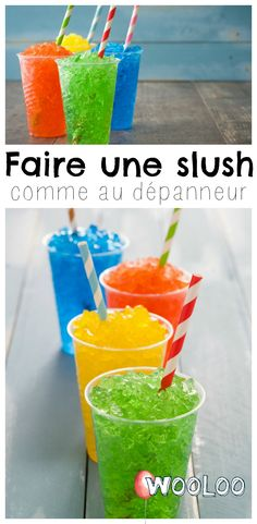Voici comment faire une slush comme au dépanneur. Les enfants en redemanderont! ☀❤ #été #summer #slush #recette Summer Recipes, My Recipes, Dessert Recipes, Desserts, Summer Drinks, Cocktail Drinks, Cocktails, Tupperware, Popsicles