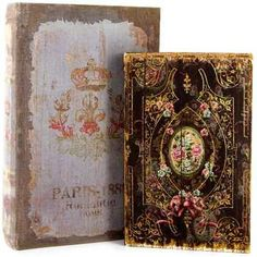 Tattered Floral Nested Box Book Set