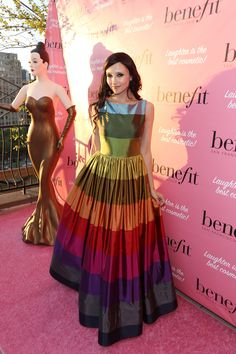 Interlude... Stacey Bendet in one of her designs at the Benefit Cosmetics' They're REAL-volutionary Awards on September 4, 2013 in New York City  Photo Credit: Getty