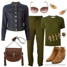 Calça Jogger – em propostas casual chic! #moda #fashion #trend #tendencias #looks #lookoftheday #personalstylist #consultoriademoda #consultoriadeimagem #burberrybrit #valentino #schutz Agiobernardes #lindafarrow #arezzo http://www.carolinedemolin.com.br