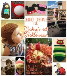 Baby might be too young to eat candy this year – but she's not too young for a costume! Crochet Halloween Costumes are lots of fun to make, ...free 10 patterns