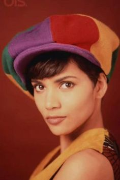 A young Halle Berry
