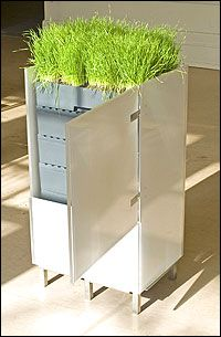 "very cool looking ""worm condo"" - worm composter"