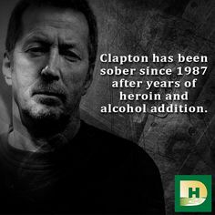 Clapton has been sober since 1987 after years of #heroin and #alcohol addiction. #sober #celebrities fro #addiction #Eric #Clapton #TheDiscoveryHouse #EricClapton #MCM