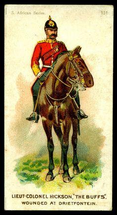 Cigarette Card - Lieutenant Colonel Hickson