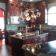 Farmhouse kitchens new orleans and farmhouse on pinterest for New orleans style kitchen