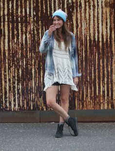 Office Style: All That Fades And Layering  http://blog.freepeople.com/2012/08/office-style-fades-layering/