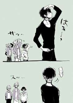 não sei pq, mas realmente sempre imaginei isso, quando toda vez o Ruki faz essa pose