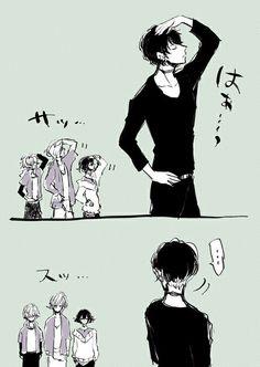 Diabolik Lovers (More Blood)- Ruki, Kou, Yuma, and Azusa #Anime #Game #Otome
