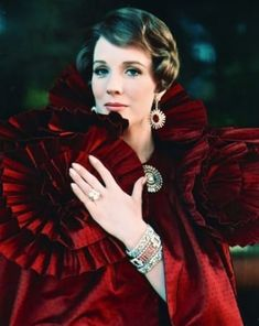 Julie Andrews dripping with glamour. Hollywood Glamour, Hollywood Stars, Classic Hollywood, Old Hollywood, Julie Andrews, Julia And Julie, Divas, Fair Lady, Up Girl