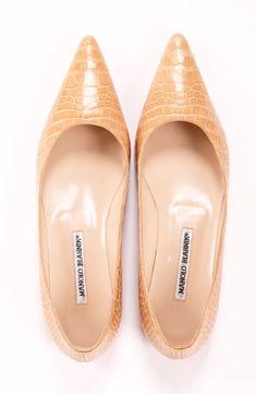72b17962c525 MANOLO BLAHNIK FLATS  Michelle Coleman-HERS Damen, Flache Schuhe, Schuhe  Sandalen,
