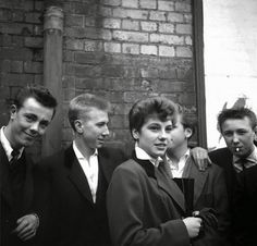 'THE LAST OF THE TEDDY GIRLS': KEN RUSSELL'S NEARLY LOST PHOTOGRAPHS OF LONDON'S TEENAGE GIRL GANGS